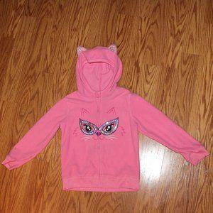 Other - 3/$15  cute girls zip up sweat shirt